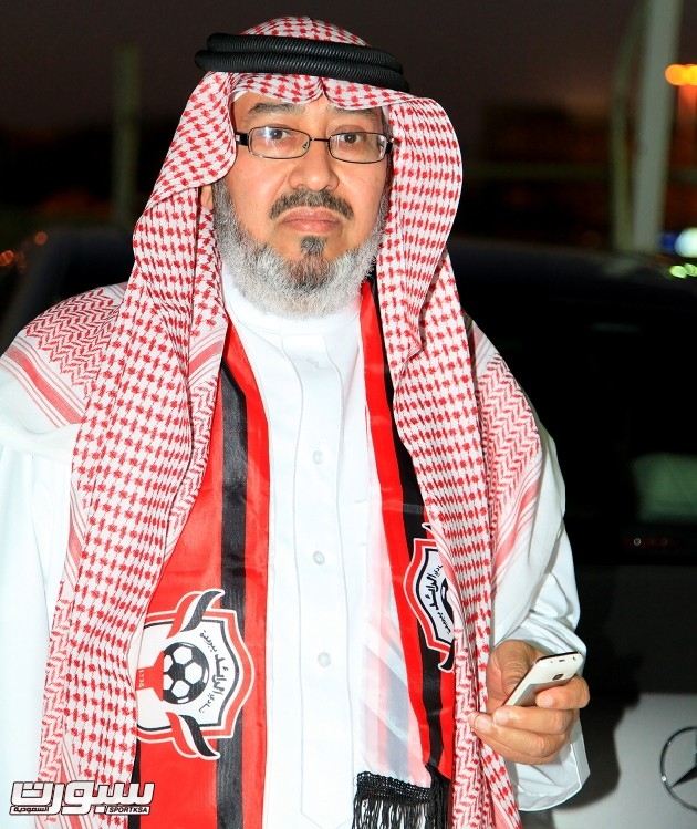 أمين هيئة أعضاء الشرف بنادي الرائد فهد الربدي