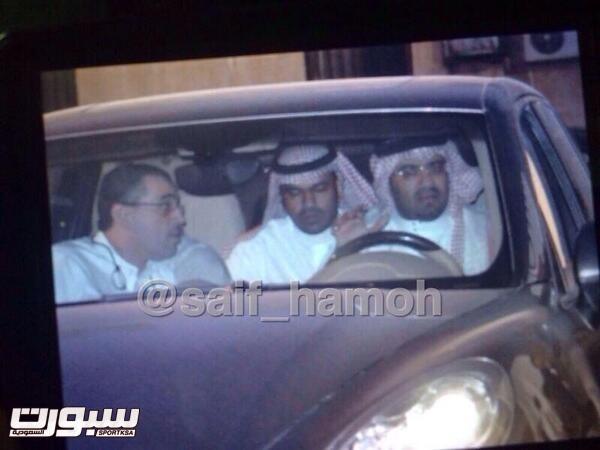 صورة تناقلت الجماهير في تويتر عن حضور الرئيس ونائبه