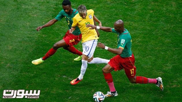 البرازيل الكاميرون 18