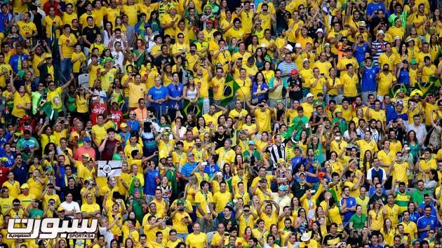 المانيا البرازيل 9 جماهير جمهور