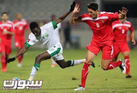 اولمبي السعودية و فلسطين (5) 