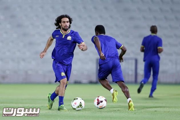 تدريبات النصر 3 حسين عبدالغني