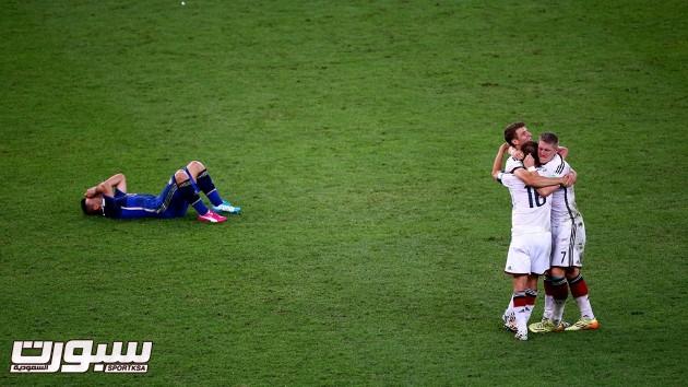 فرحة المانيا بكأس العالم 2014 - 1