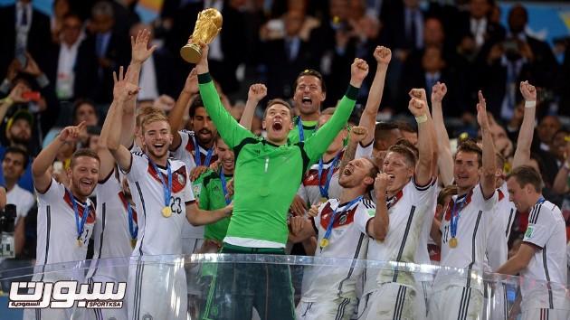 فرحة المانيا بكأس العالم 2014 - 13