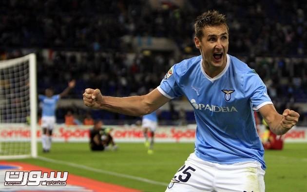Klose Da La Victoria Al Lazio Frente A La Roma
