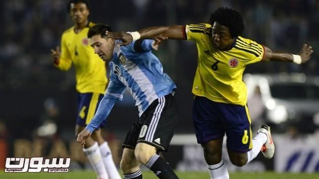 كولومبيا الارجنتين ميسي