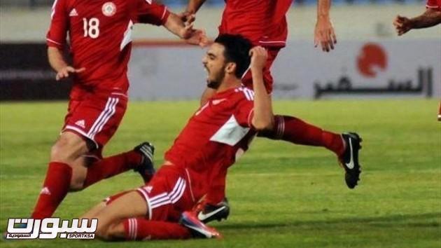 محمد حيدر لاعب لبنان