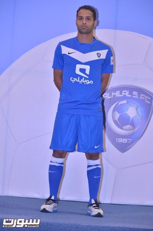 الهلال يدشن أطقم كرة القدم للموسم الرياضي الحالي صحيفة سبورت السعودية