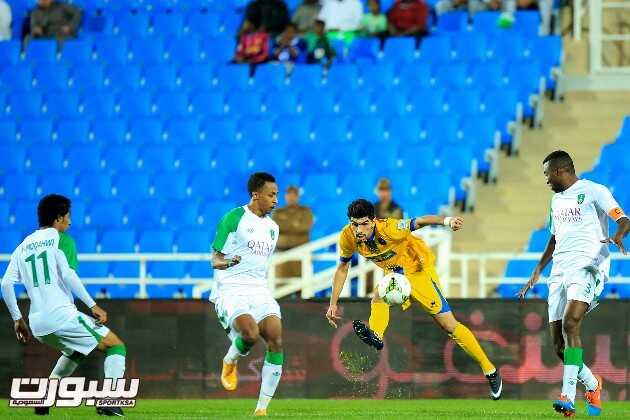صور من مباراة الأهلي و التعاون