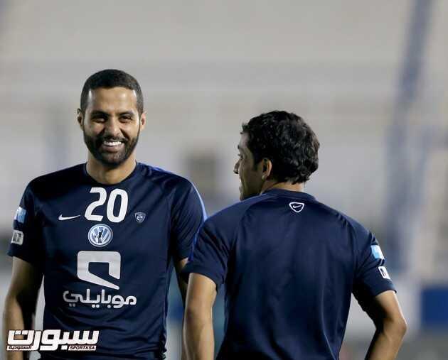 ياسر القحطاني و محمد الشلهوب