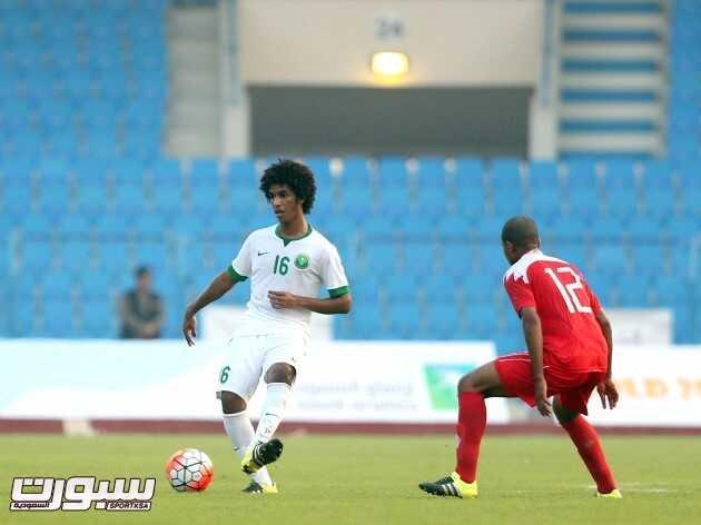 المنتخب الاولمبي السعودية و البحرين اولمبي (1) 