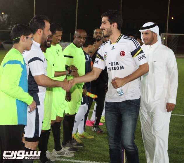 لاعب الهلال عبدالله الحافظ أثناء تواجده في البطولة