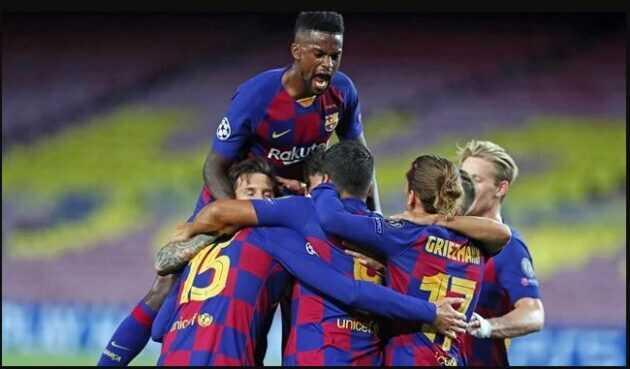 النصر يفكر لاعب برشلونة