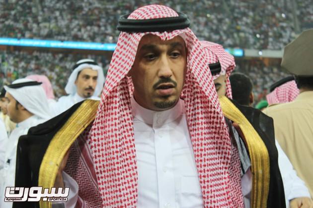فهد بن خالد رئيس نادي الاهلي
