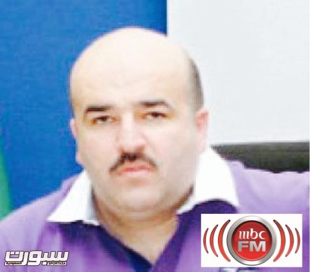 محمد سمارة نائب رئيس نادي الرمثا الاردني
