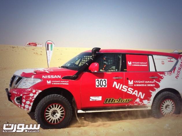 Nissan Patrol_Emil Kneisser_Emirates Desert Championship
