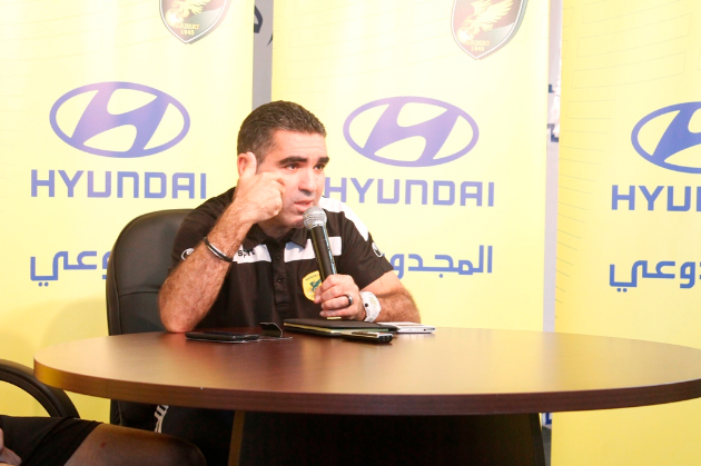 المدير الفني لنادي الخليج  الكابتن جلال قادري